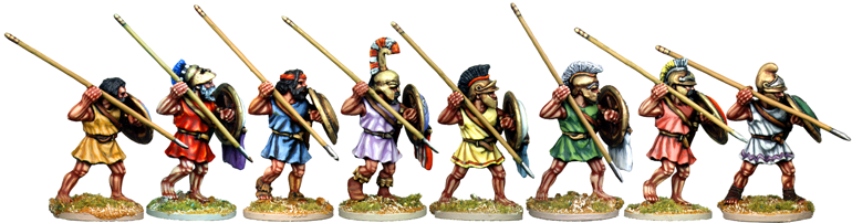 WG036 - Athenian Hoplites Attacking