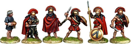 WG041 - Spartan Officers