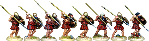 WG042 - Spartan Hoplites Attacking