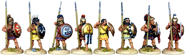 WG046 - Athenian Hoplites At The Ready