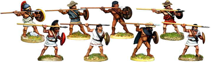 WG048 - Greek or Macedonian Peltasts or Javelinmen