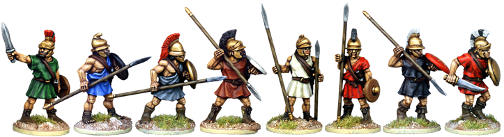 WG067 - Greek or Macedonian Peltast Characters
