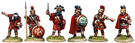 WG082 - Greek Mercenary Characters