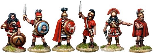 WG083 - Greek Mercenary Commanders