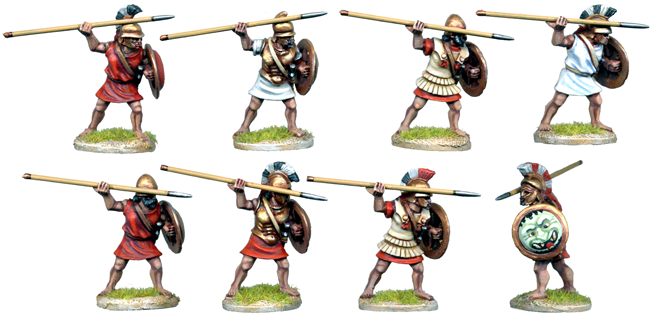 WG084 - Greek Mercenary Hoplites