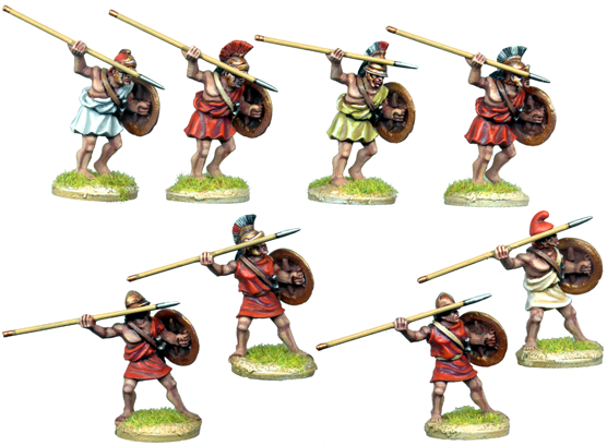 WG085 - Greek Mercenary Peltasts