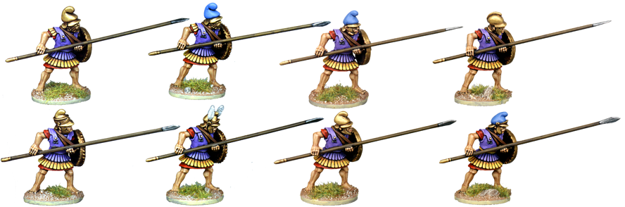 WG105 - Armoured Macedonian Pikemen 4