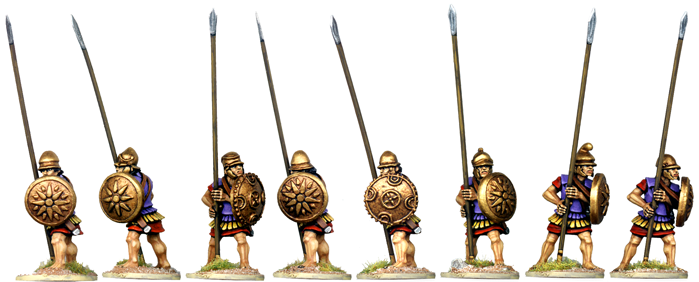 WG122 - Armoured Macedonian Pikemen 5