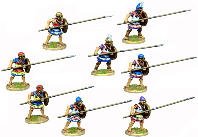 WG124 - Armoured Macedonian Pikemen 6