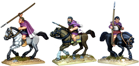 WG131 - Bare Headed Thessalian Cavalry