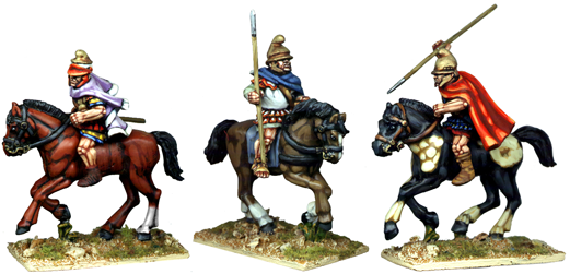 WG132 - Helmeted Thessalian Cavalry