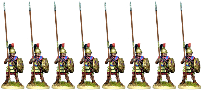 WG145 - Macedonian or Successor Armoured Pikemen