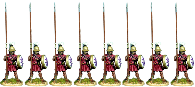 WG147 - Macedonian Or Successor Unarmoured Pikemen