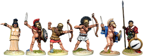 WG165 - Classical Greek Heroes