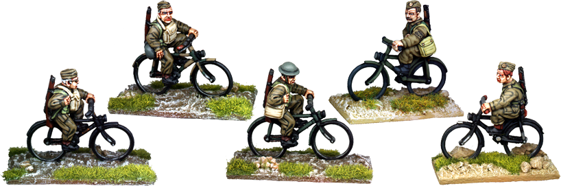 WW2014 - Home Guard On Bicycles