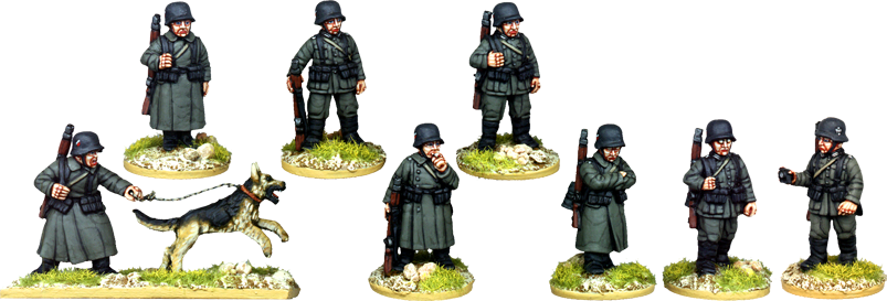 WW2025 - German Sentries