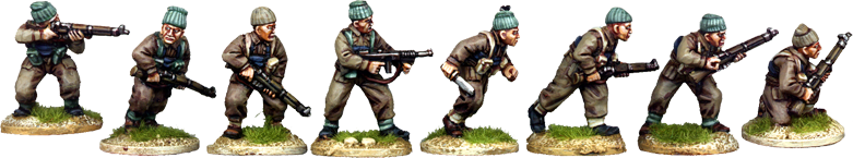 WW2033 - British Commando Rifle Squad