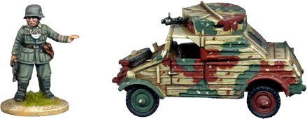 WW2G013 - Armoured Kubelwagen