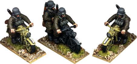 WW2G014 - Motorcycle Patrol Group
