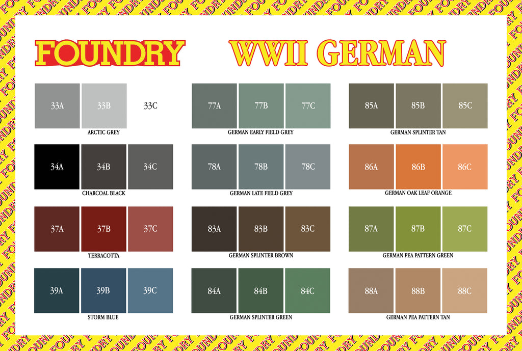 World War II German Paint Set