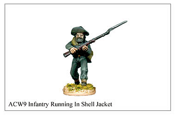 ACW009 -  Infantry Running In Shell Jacket