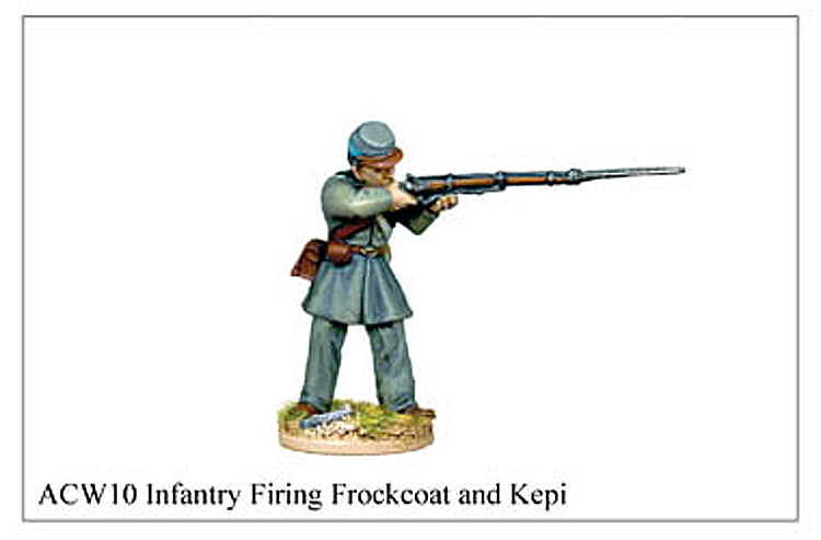 ACW010 - Infantry Firing Frockcoat And Kepi