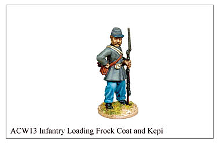 ACW013 - Infantry Loading Frock Coat And Kepi