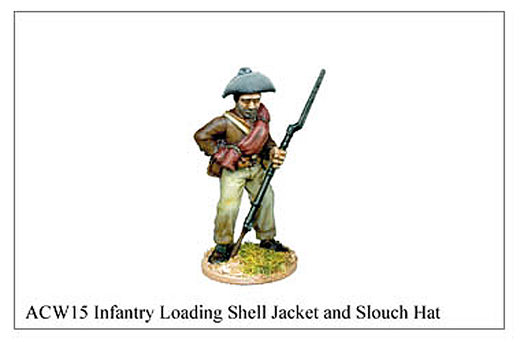 ACW015 - Infantry Loading Sack Coat And Kepi