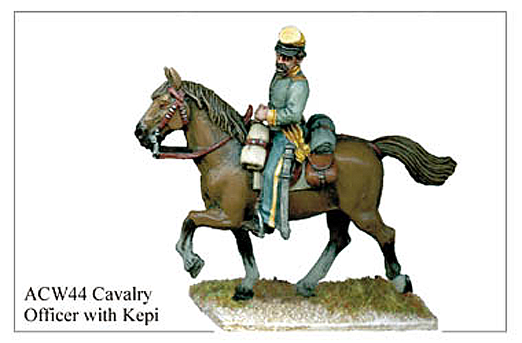 ACW044 - Cavalry Officer With Kepi