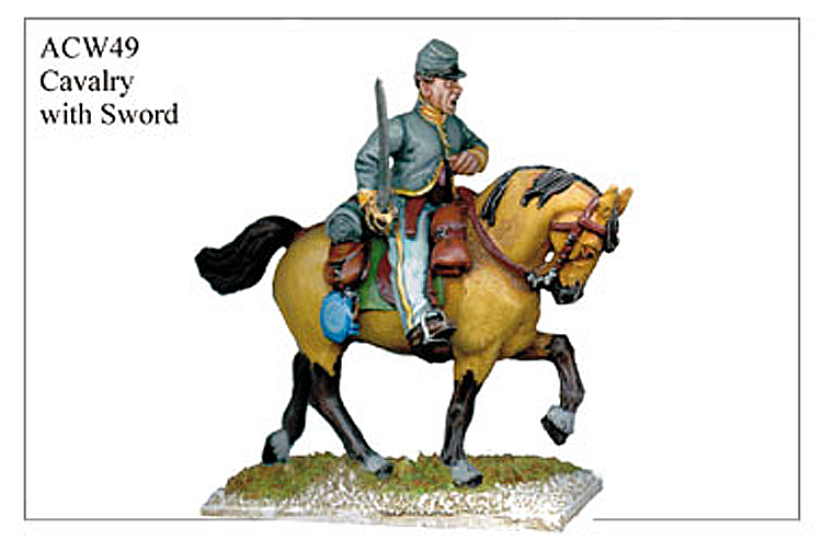 ACW049 - Cavalry With Sword 2