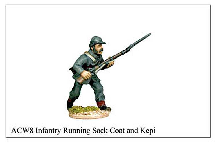 ACW008 - Infantry Running Sack Coat And Kepi