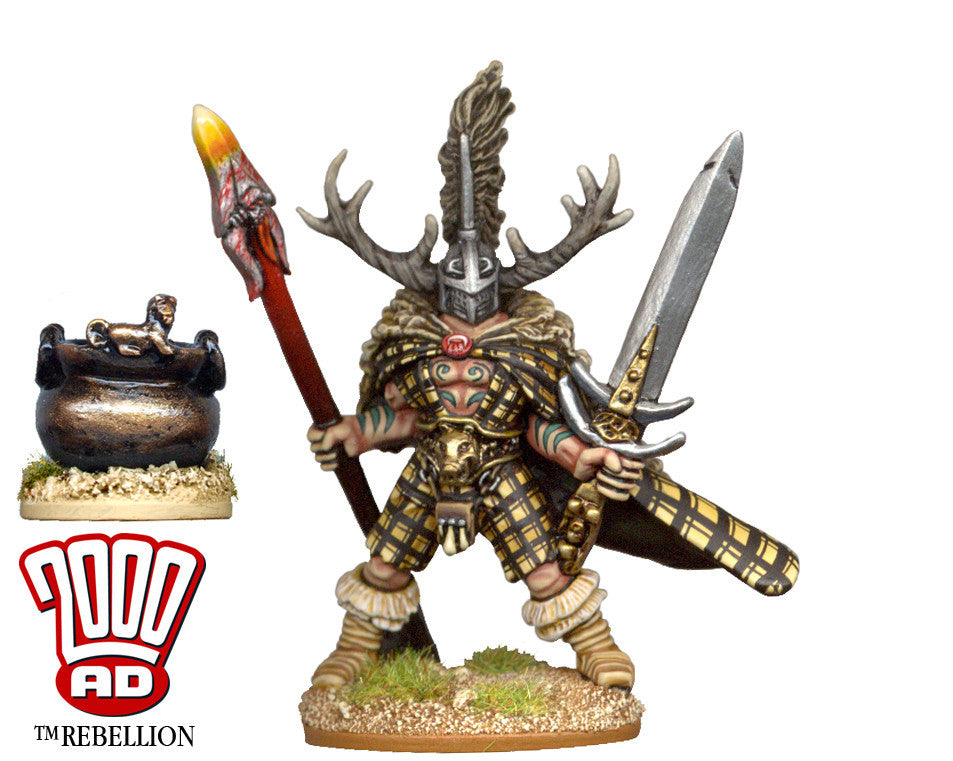 AD07 - Slaine the Horned God