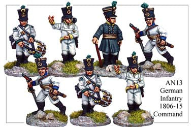 AN013 German Infantry 1806-15 Command