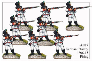 AN017 German Infantry 1806-15