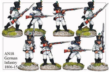 AN018 German Infantry 1806-15