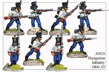 AN024 Hungarian Infantry 1806-15