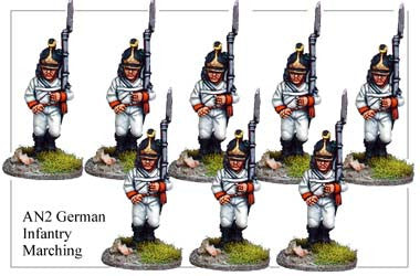 AN002 German Infantry Marching