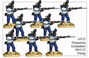 AN035 Hungarian Grenadiers 1805-15 Firing