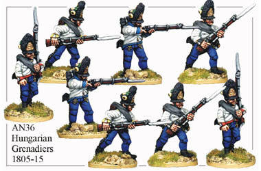 AN036 Hungarian Grenadiers 1805-15