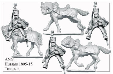 AN064 Hussars 1805-15 Troopers