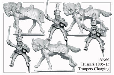 AN066 Hussars 1805-15 Troopers Charging