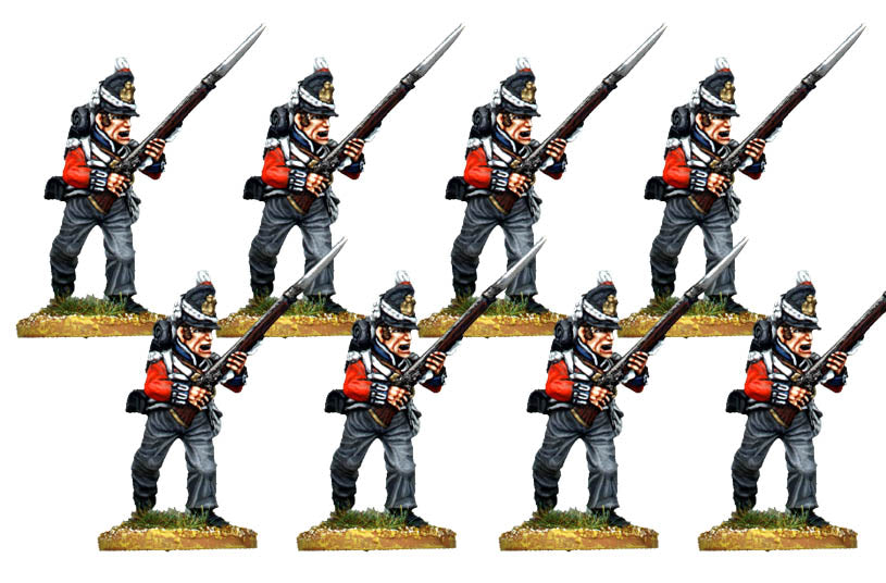B036  Late Line Infantry Centre Company Charging