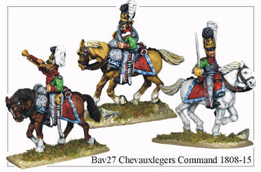 BAV027 Chevauxleger Command 1808-15