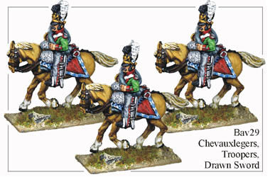 BAV029 Chevauxleger Drawn Sword