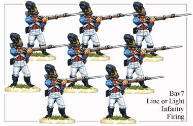 BAV007 Line or Light Infantry Firing