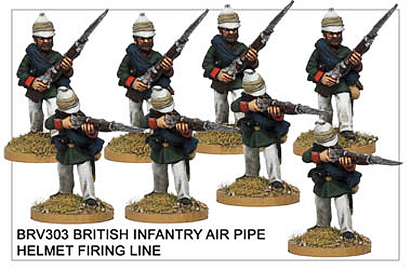 BRV303 British Infantry Firing Line