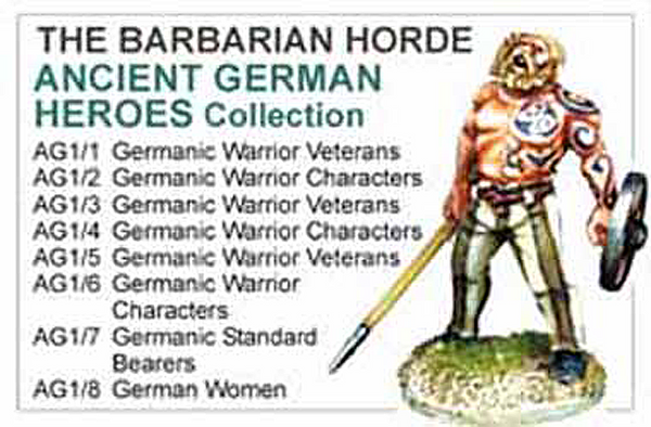 BCAG001 - Ancient German Heroes Collection