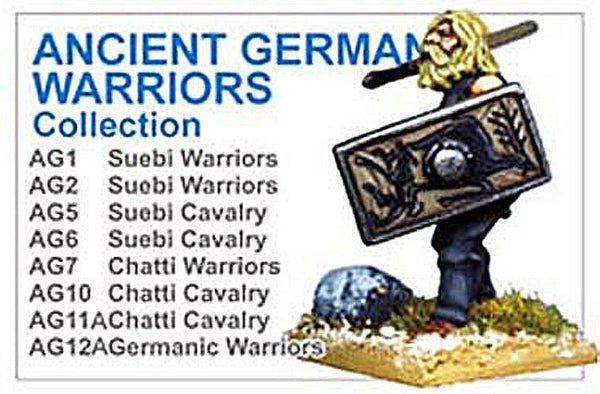 BCAG002 - Ancient German Warriors Collection