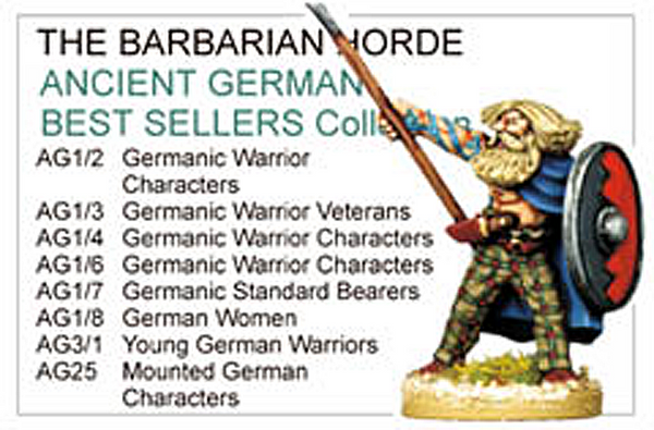 BCAG004 - Ancient German Best Sellers Collection