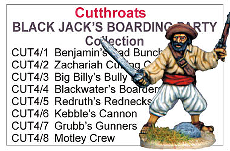 BCCUT004 - Black Jacks Boarding Party Collection